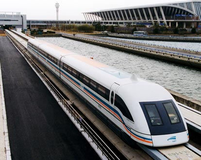 Maglev Hovering Train Breaks Speed Record
