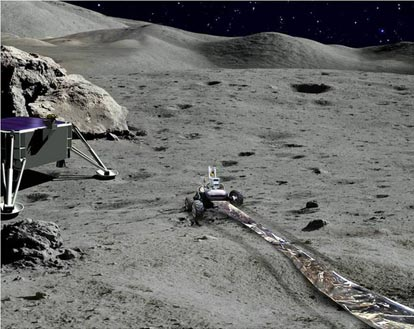 Robots to Help Build Radio Telescope for Far Side of Moon