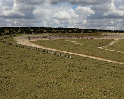 Ground-penetrating Radar Uses Electromagnetic Radiation to Reveal 'Super-Henge'