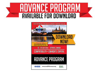 Advance Program for IEEE EMC 2016 Now Available